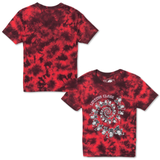 Dancing Women's Tee - Red Tie Dye