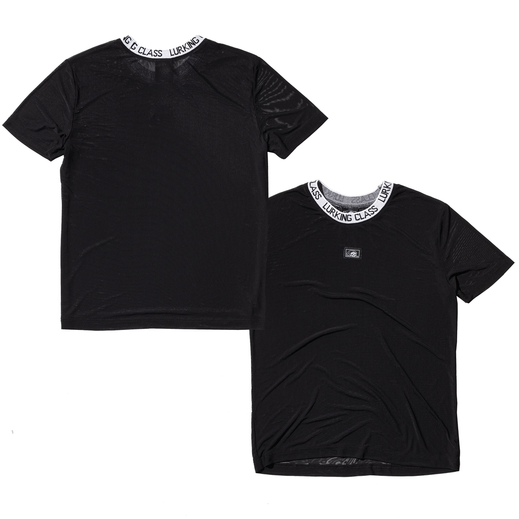 Lurking Mesh Women's Tee - Black
