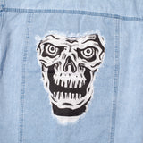 R.I.P. Women's Denim Jacket - Washed Indigo