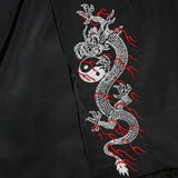 Dragon Women's Hooded Bomber Jacket - Black