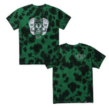 Matrix Women's Tee - Black/Green Tie Dye