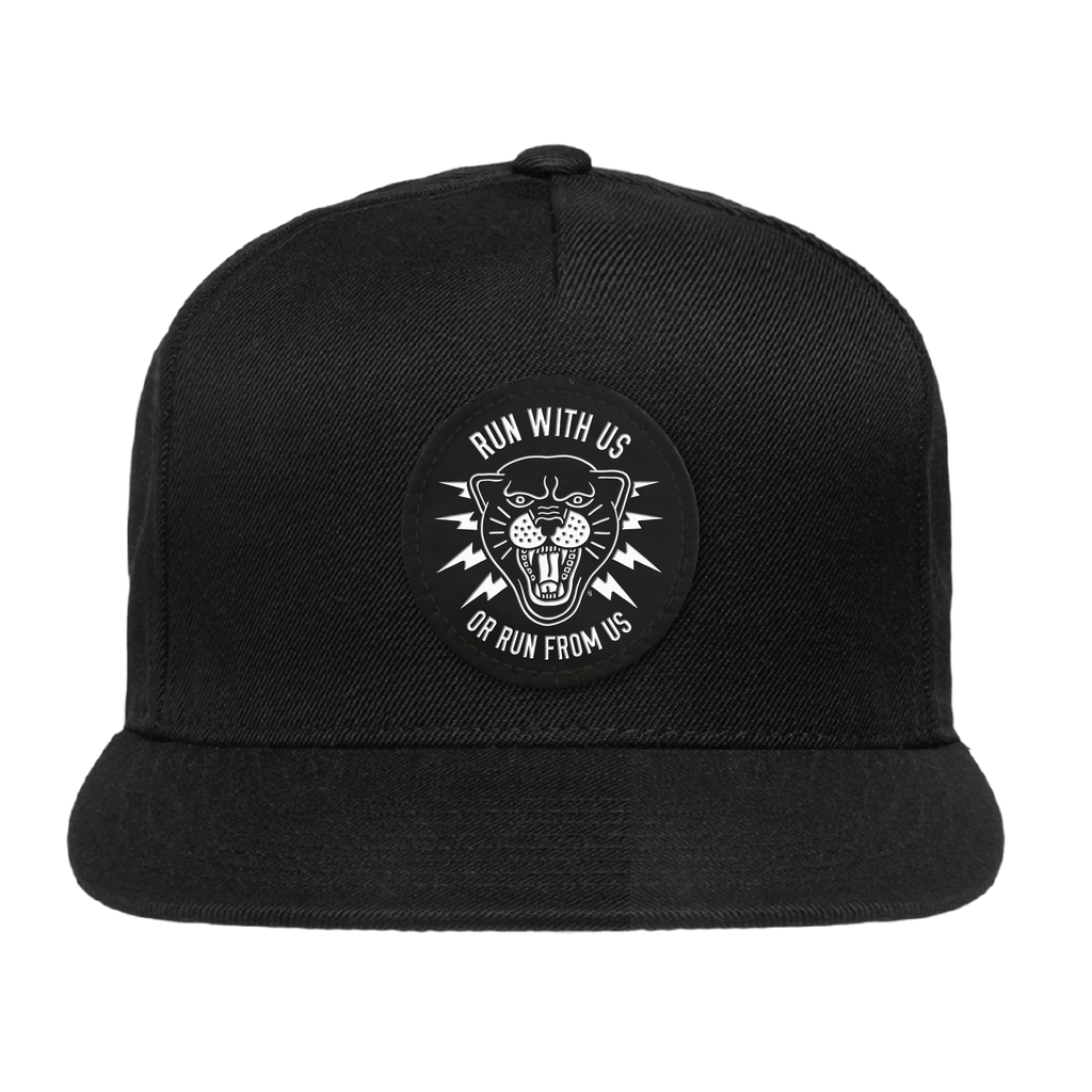 Panther Black Snapback Hat | Lurking Class by Sketchy Tank