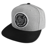 Opinions Snapback Hat - Grey / Black