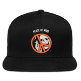 Peace of Mind Snapback Hat - Black