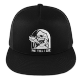 Pie Till I Die Trucker Hat - Black