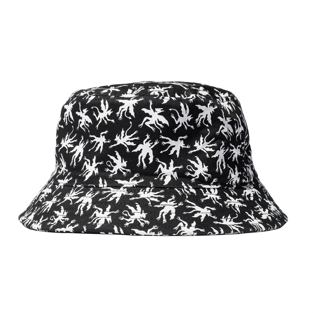 Demons Bucket Hat - Black/White