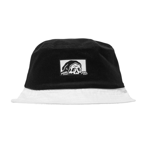 Lurker Bucket Hat - Black/White