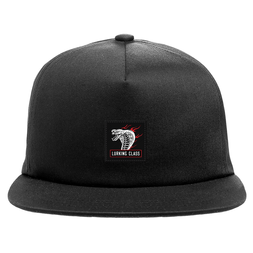 Cobra Fire Unstructured Hat - Black