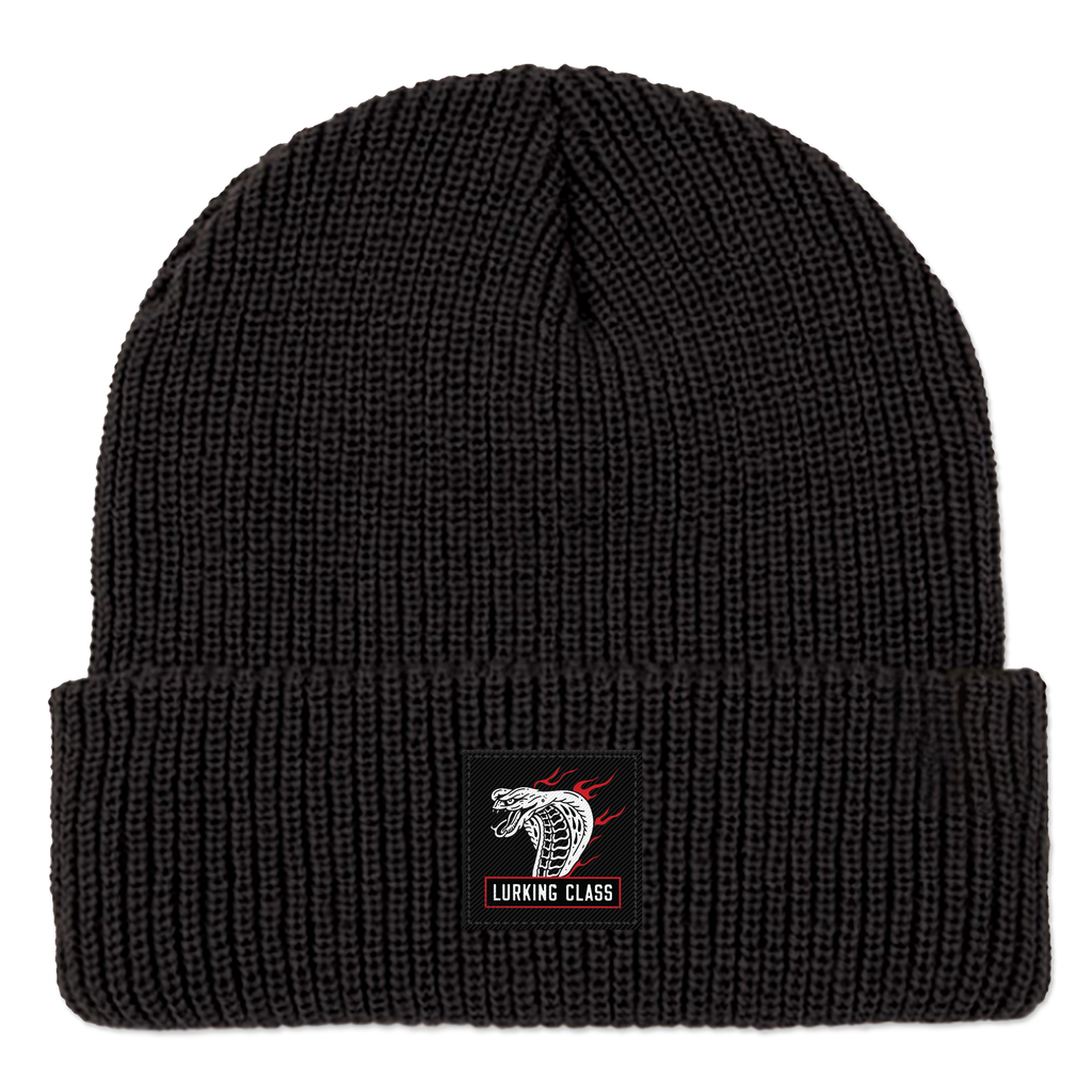 Cobra Fire Beanie - Black
