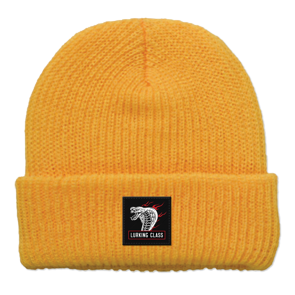 Cobra Fire Beanie - Yellow