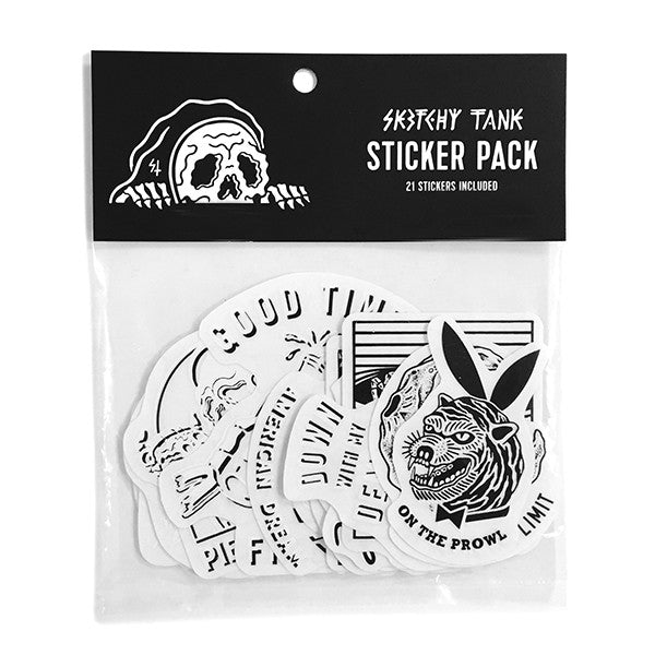 Sketchy Tank Sticker Pack