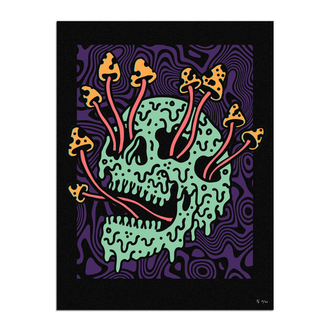Fungus Purple Haze Limited Print | Lurking Class by Sketchy Tank