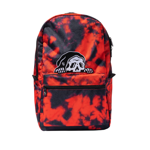 Lurker Backpack - Red Tie Dye