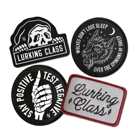Lurking Class Patch Pack