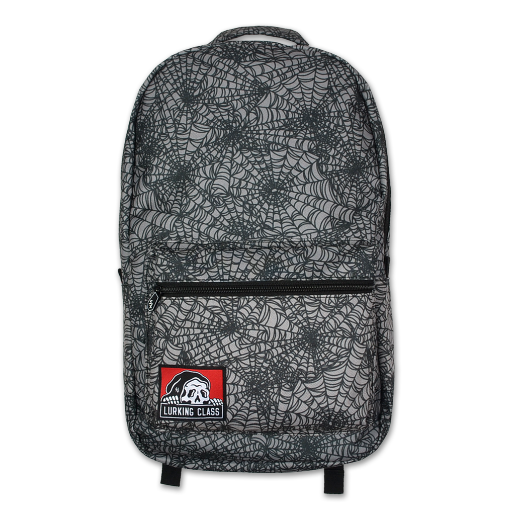 LC Spider Web Backpack - Grey/Black