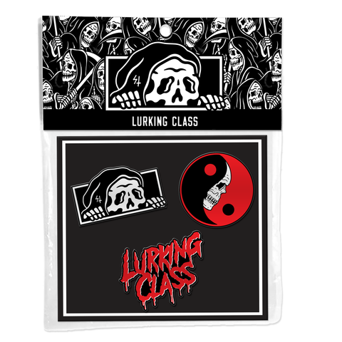 Lurking Class Lapel Pin 3 Pack