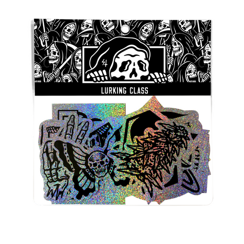 Lurking Class Holographic Sticker Pack - 21 piece