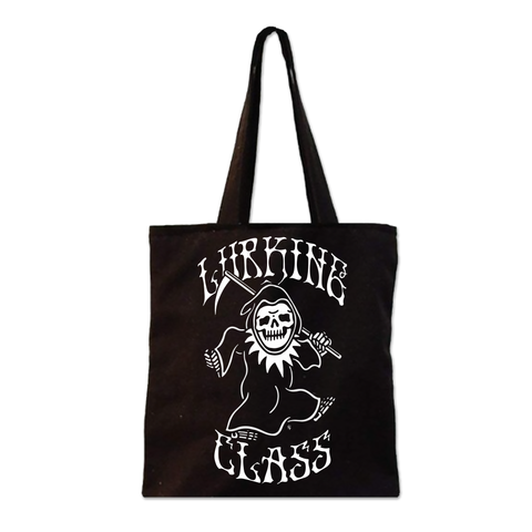 Dancing Reaper Tote Bag - Black