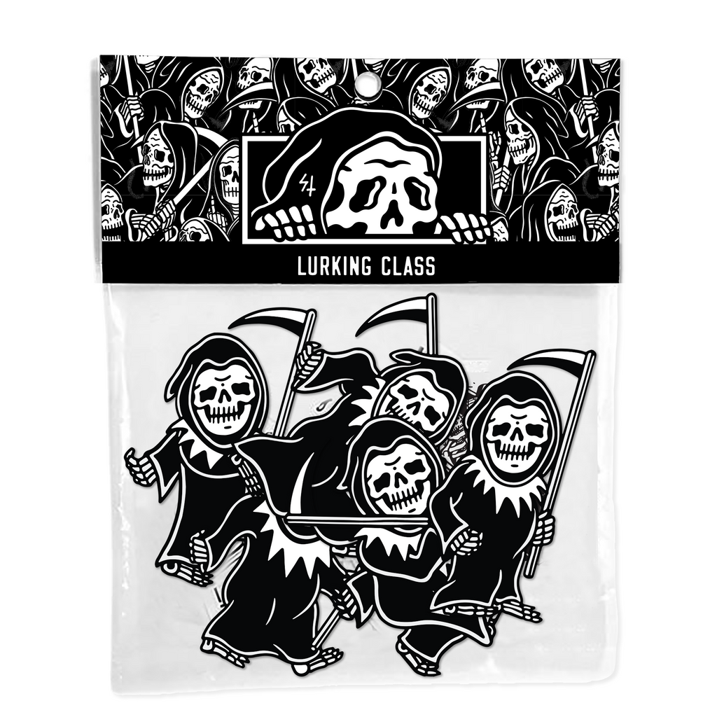 Dancing Reapers Sticker Pack 5 piece