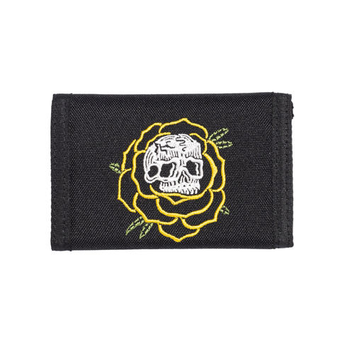 Thorn Rose Wallet - Black