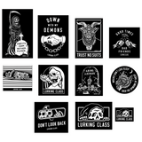 Lurking Class Icons Sticker Pack