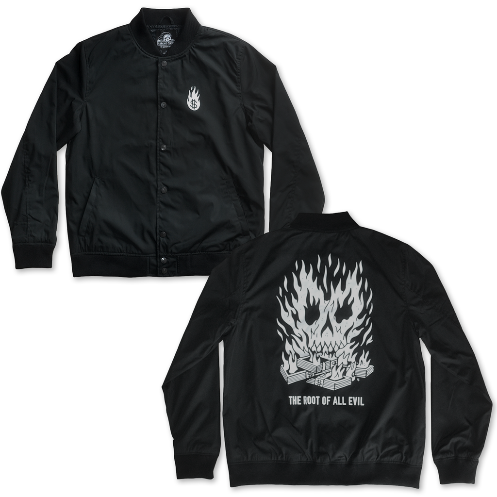 Root of All Evil Bomber Jacket