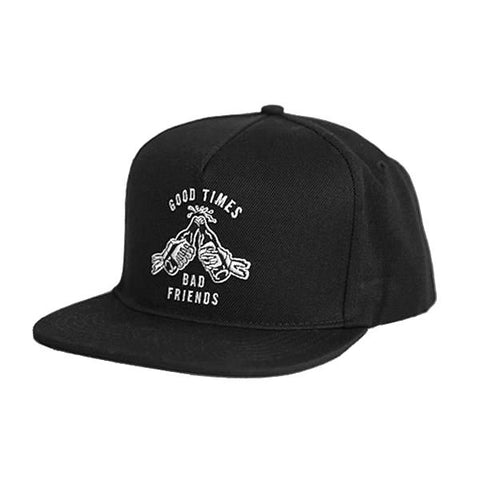 Good Times Bad Friends Snapback