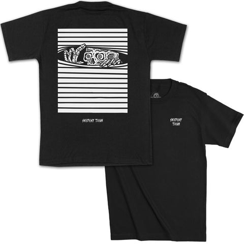 PEAKING TEE BLACK