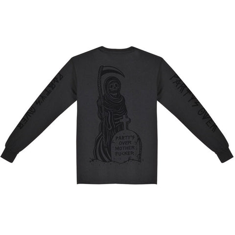 PARTY'S OVER LONGSLEEVE BLACK