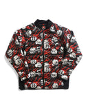 686 Collab Thermal Puff Jacket - Black/Red