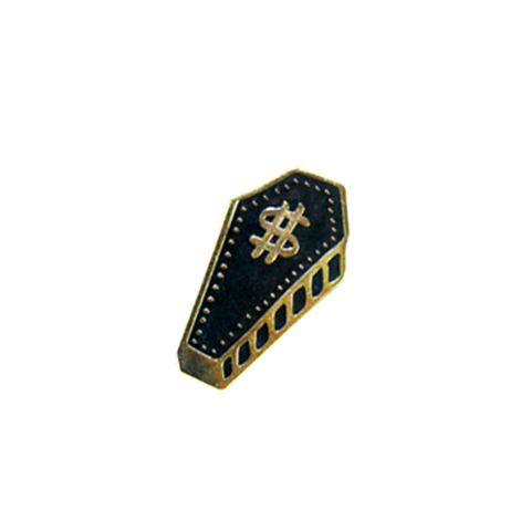 Greed Kills Lapel Pin