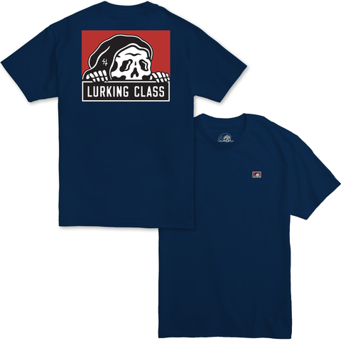 Corpo Tee - Navy | Lurking Class by Sketchy Tank