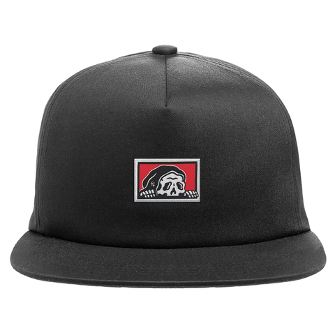 Corpo Structured Snapback Hat - Black | Lurking Class by Sketchy Tank