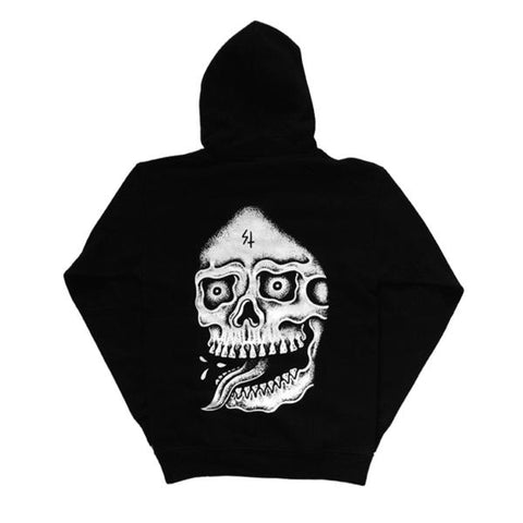 Death Pullover Hoodie | Lurking Class by Sketchy Tank