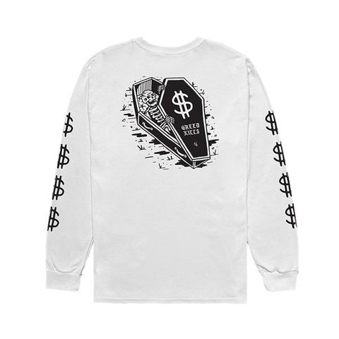 Dollars Longsleeve T Shirt | Lurking Class by Sketchy Tank