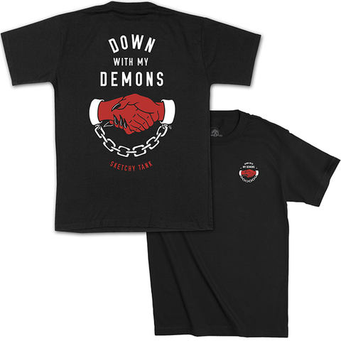 Down With My Demons T Shirt | Lurking Class by Sketchy Tank