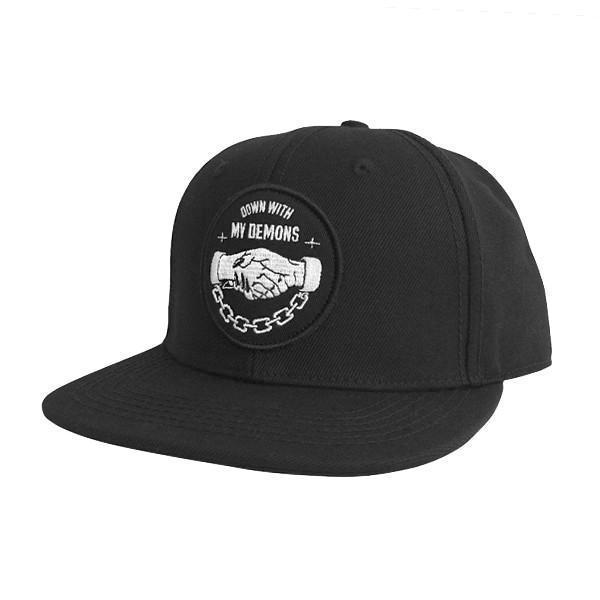 Down With My Demons Snapback Hat | Lurking Class by Sketchy Tank