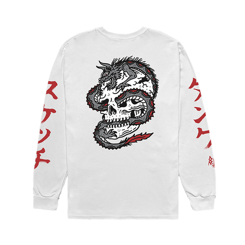 Dragon Longsleeve T Shirt | Lurking Class by Sketchy Tank