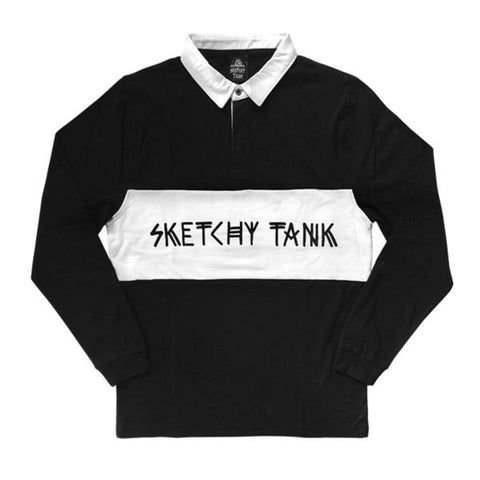 Drugby Longsleeve Rugby Jersey | Lurking Class by Sketchy Tank