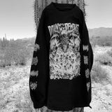 Sawblade x Lurking Class | Down With My Demons Longsleeve Black