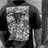 Sawblade x Lurking Class | Down With My Demons Tee Black