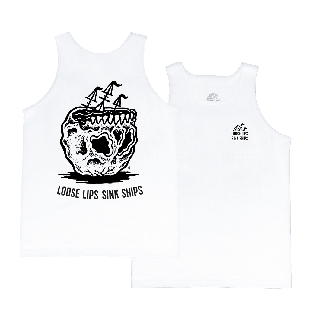 Loose Lips Sink Ships Tank Top | Lurking Class by Sketchy Tank