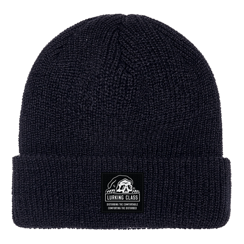 Lurking Class Black Beanie | Lurking Class by Sketchy Tank