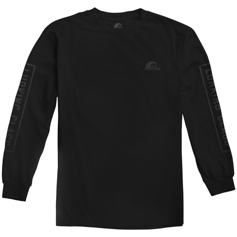 Lurking Class 3M Black Longsleeve Tee | Lurking Class by Sketchy Tank