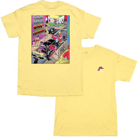Nazar 2 T Shirt Yellow | Lurking Class by Sketchy Tank