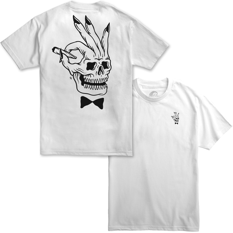Player White T-Shirt | Lurking Class by Sketchy Tank