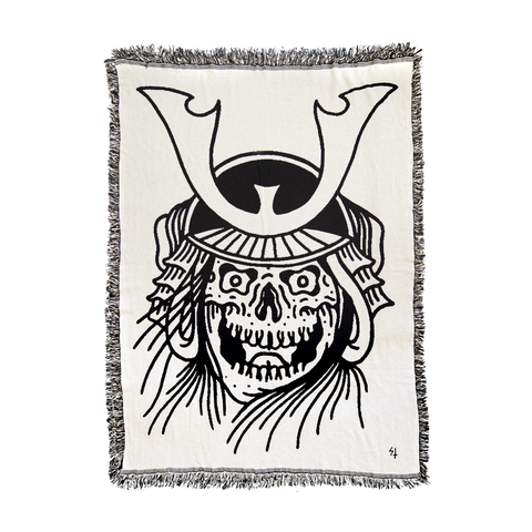 Samurai Woven Tapestry | Lurking Class by Sketchy Tank
