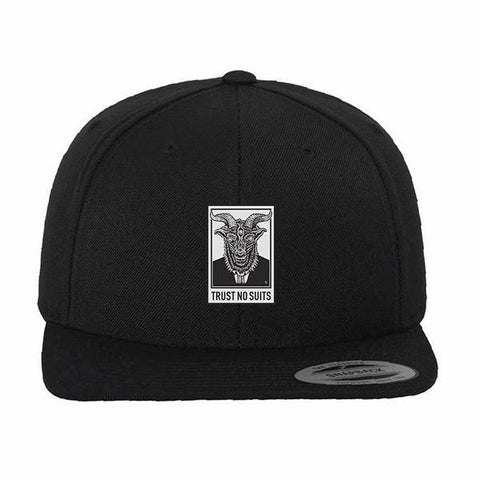 Trust No Suits Snapback Hat | Lurking Class by Sketchy Tank