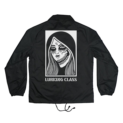 Two Faced Black Coaches Jacket | Lurking Class by Sketchy Tank