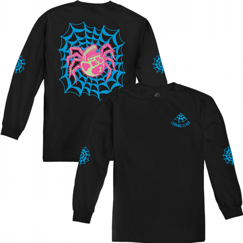 Web Blacklight Longsleeve T-Shirt | Lurking Class by Sketchy Tank